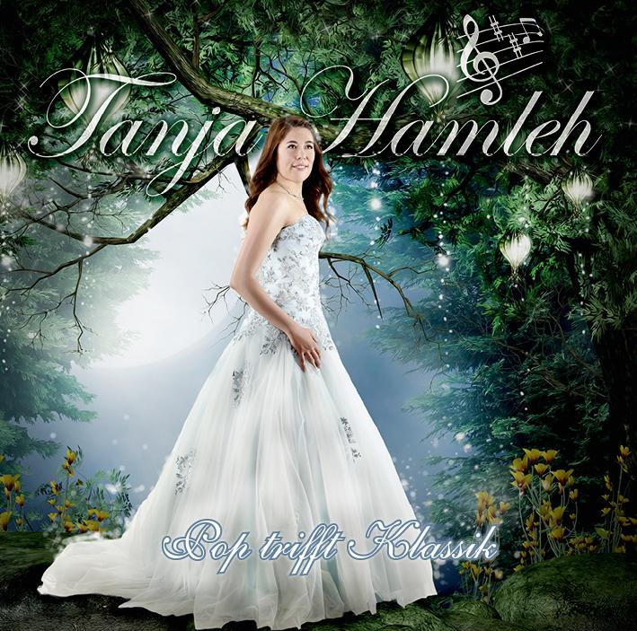 """Cover Tanja Hamleh - """"Pop trifft Klassik"""""""