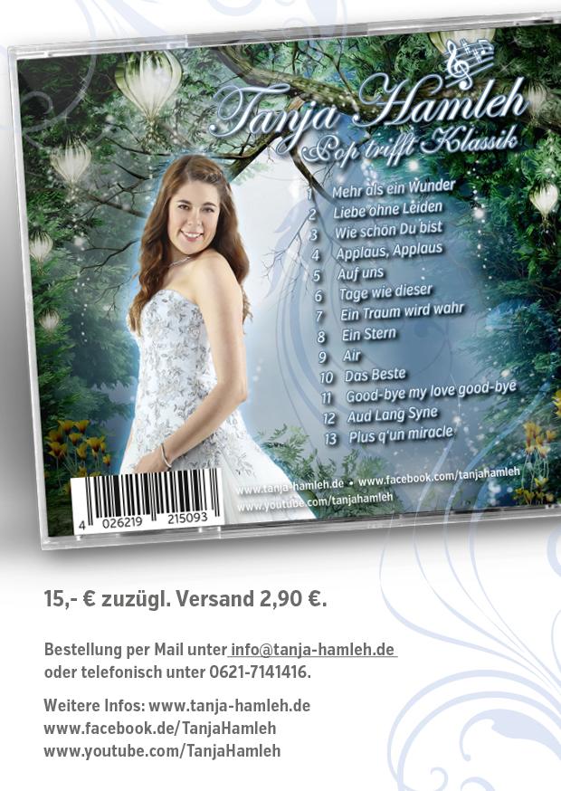 "Tanja Hamleh - Album Flyer ""Pop trifft Klassik"" seite2"